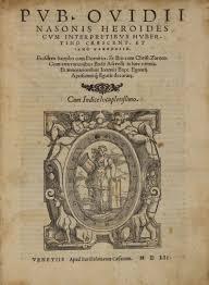 Edizione delle Heroides, Venezia 1552